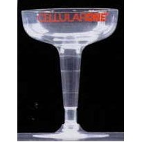 4 Oz. Clear Polystyrene 2 Piece Champagne Glass (closeout item)